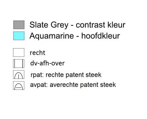Legenda tweekleurige patent
