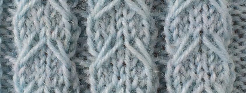 Wol & Co Kabel met afgehaalde steek