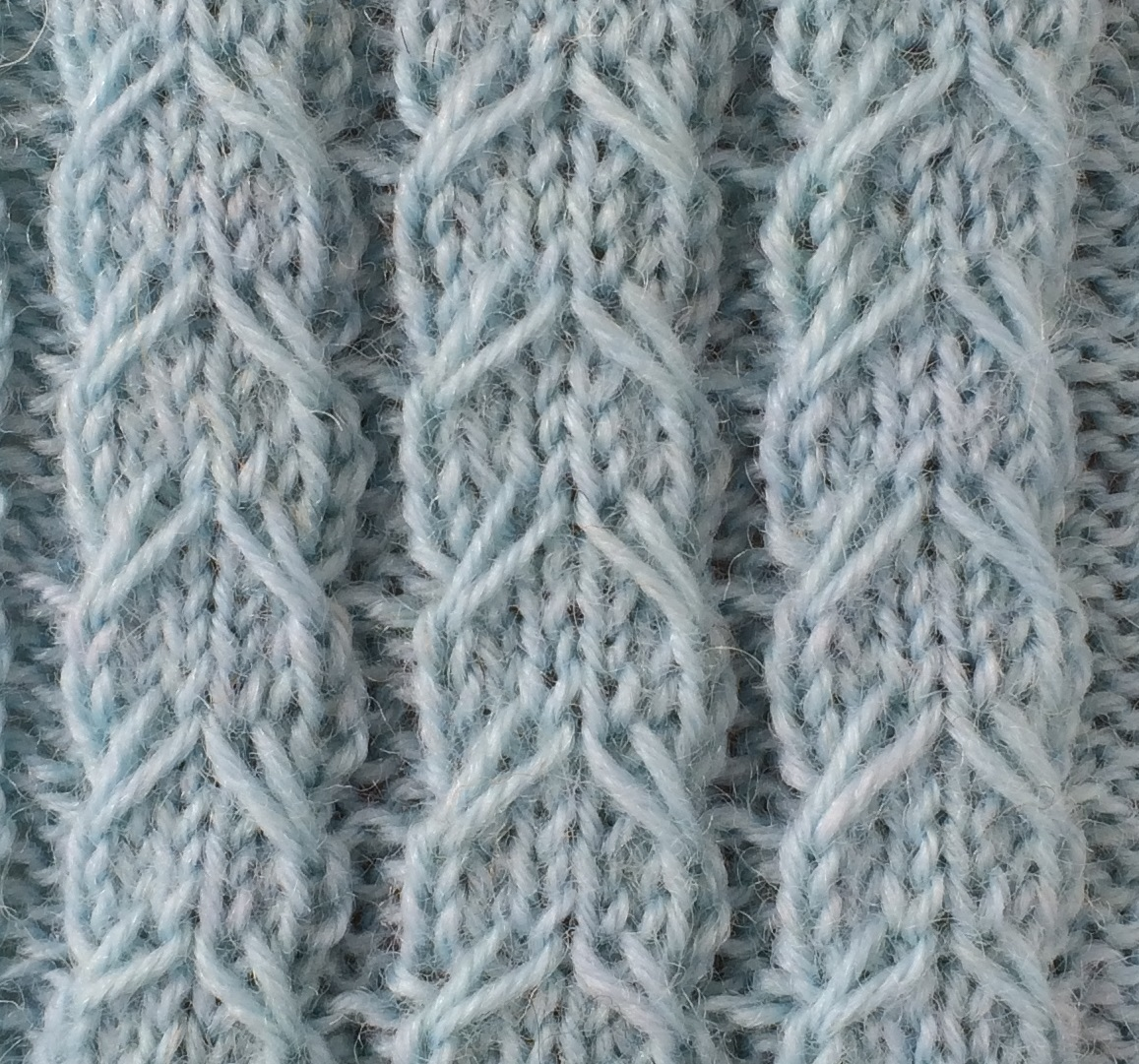 Kabel met afgehaalde steek