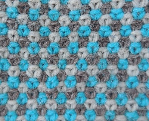 Wol & Co linnen steek linen stitch 3 kleuren