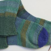 een nieuwe teen aan je sok breien