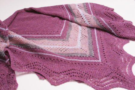 Grace hap shawl patroon