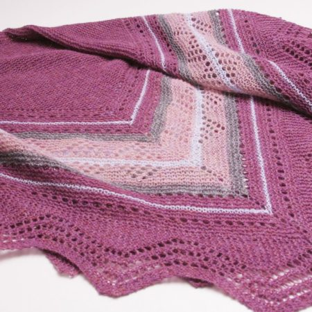 Grace hap shawl patroon