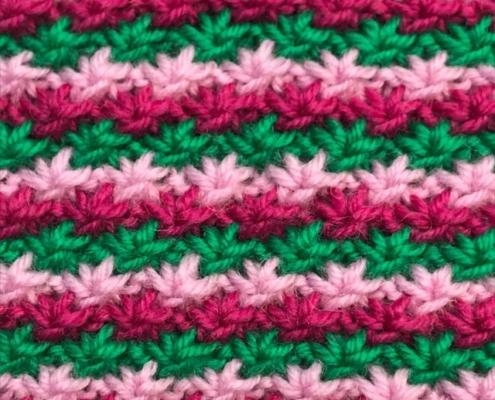 Wol & Co Madeliefjes in drie kleuren