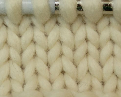 1 ply in knitting