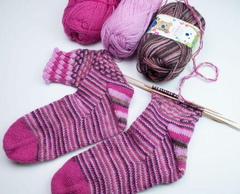 Zelf sokken ontwerpen