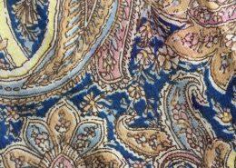 Textiel detail paisley