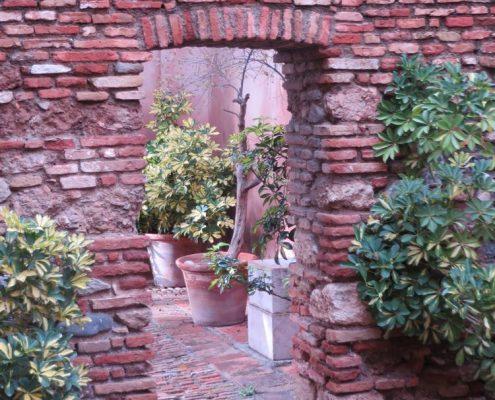 Wol & Co inspiratiebeeld, tuin in het Alhambra, Spanje