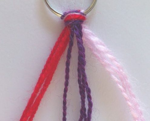 Wol & Co junior knutselen sleutelhanger 3