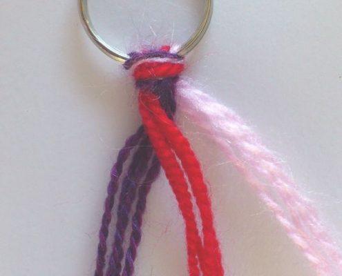 Wol & Co junior knutselen sleutelhanger 4