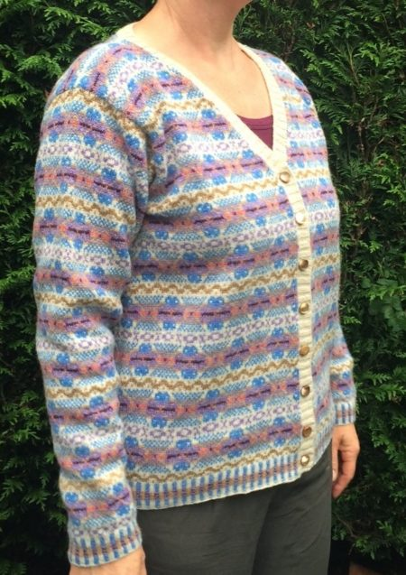 Fair Isle vest Sophie Pastel patroon