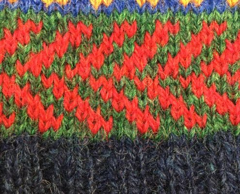Wol & Co, Fair Isle, Verspringende pijlen