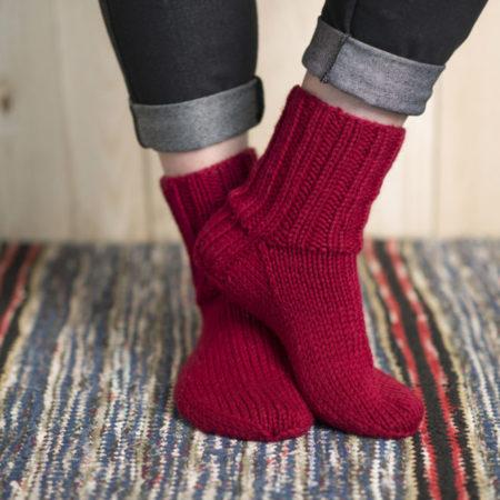 basispatroon boord-eerst superdikke sokken
