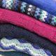 Wol & Co kleuren kiezen Blauw met roze