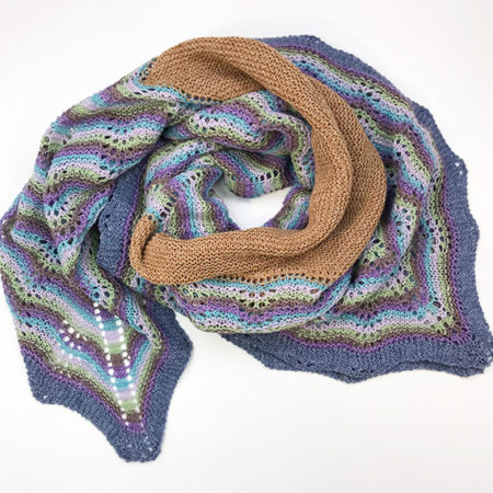 pauwensteek hap shawl multicolor