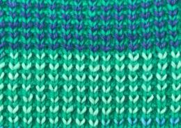 Wol&Co Afgehaalde boord in twee kleuren