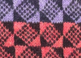 Wol & Co Fair Isle ruiten