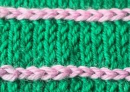 Wol & Co vlechtje contrast kleur 0
