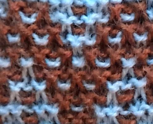 Wol & Co Zigzag mozaiek