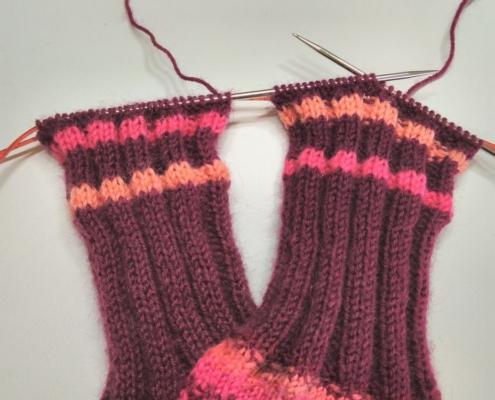 Wol & Co Twee sokken tegelijk