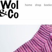 Wol & Co Logo op website