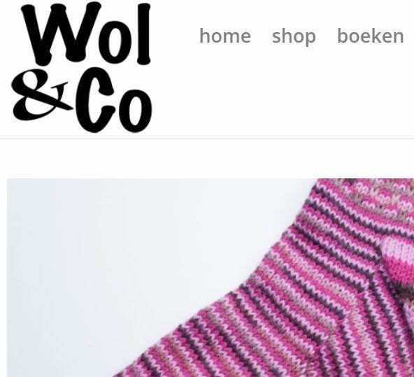 Wol & Co Logo op website