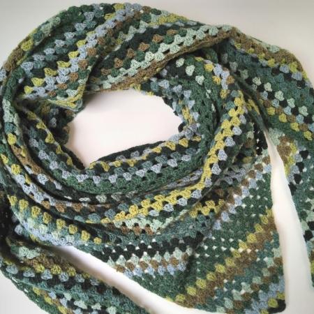 Wol & Co Granny Stripe groen