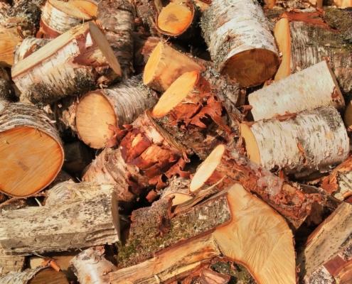 Wol & Co houtstapel