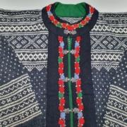 Wol-Co-een setesdal vest repareren 14
