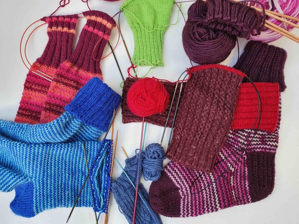 Wol & Co sokken in wording