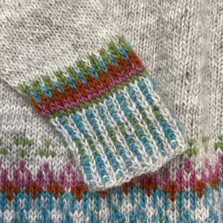 detail linnea yoke sweater