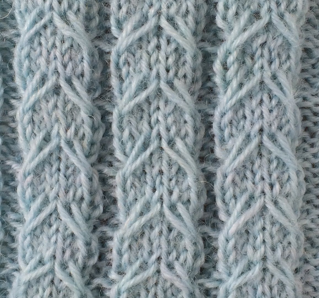 Wol & Co Kabel-met-afgehaalde-steek-vierkant