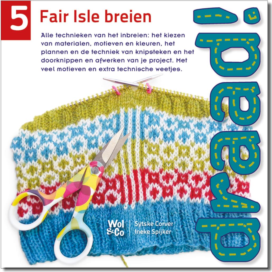 Wol & Co Cover draad!5 Fair Isle breien PR