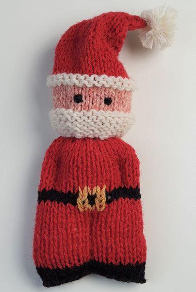 Wol & Co dude doll kerstman