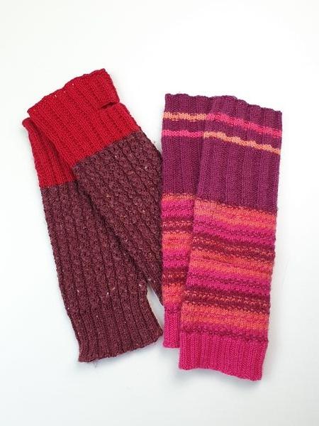 Wol & Co vingerloze handschoen uit draad! 4