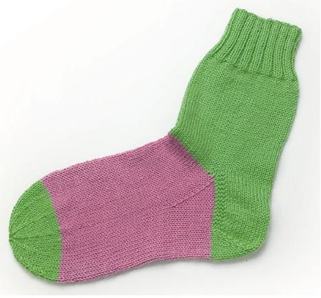 sokken breien basissok