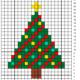 Wol & Co kerstboom-telschema