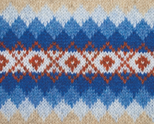 Wol & Co Fair Isle verloop ruit