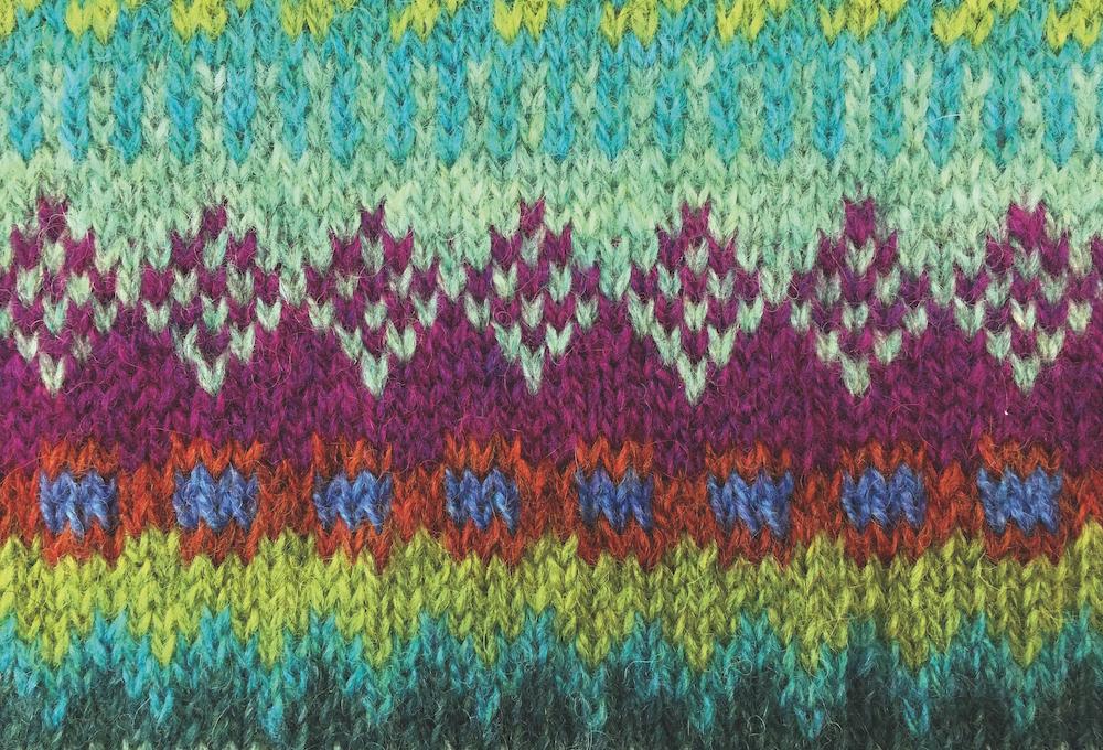 Kleuren in Fair Isle breien