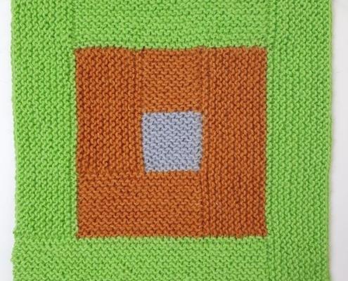 Wol-Co-lapjes breien van restjes log cabin-kleurgebruik-vierkant-1